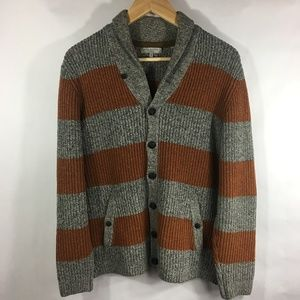 Ted Baker London Men's Wool Knit Cardigan SMALL